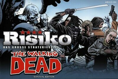 Risiko, The Walking Dead Edition - Brettspiel - Pegasus