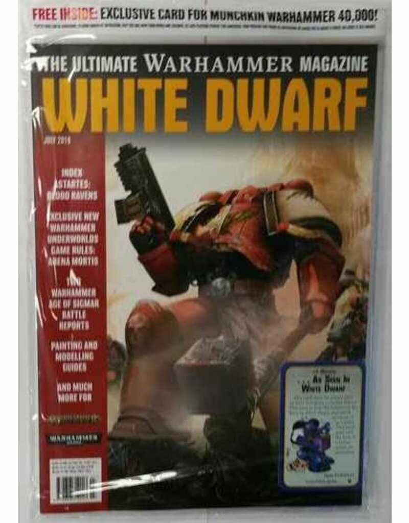 White Dwarf Juli 2019 (Deutsch) - Games Workshop