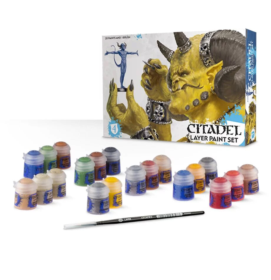 Citadel Layer Paint Set - Citadel - Games Workshop