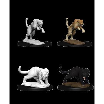 D&D Nolzur's Marvelous Miniatures: Panther & Leopard