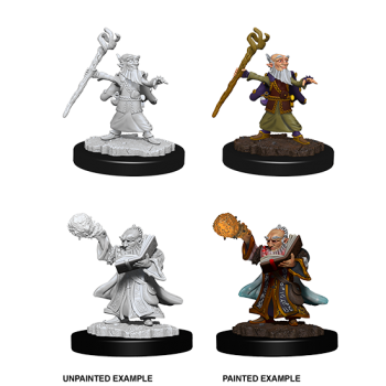 D&D Nolzur's Marvelous Miniatures: Male Gnome Wizard