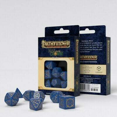 Pathfinder Würfel Set War For The Crown (7) - Q-Workshop