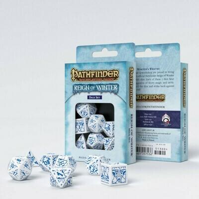 Pathfinder Würfel Set Reign of Winter (7) - Q-Workshop