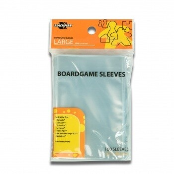 Sleeves - Boardgame Sleeves - Large (62x96mm) - 100 Pcs