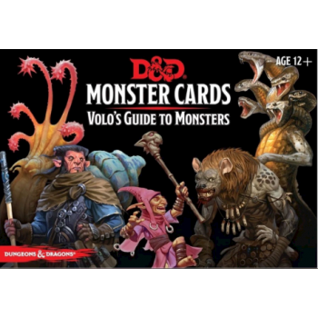 D&D Monster Cards - Volo`s Guide To Monsters (81 Cards) - EN