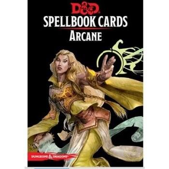 Dungeons & Dragons - D&D Spellbook Cards - Arcane (257 Cards) - EN