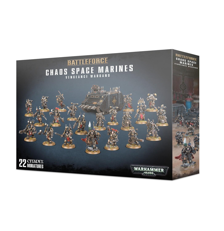 Battleforce: Chaos Space Marines Vengeance Warband - Warhammer 40.000 - Games Workshop