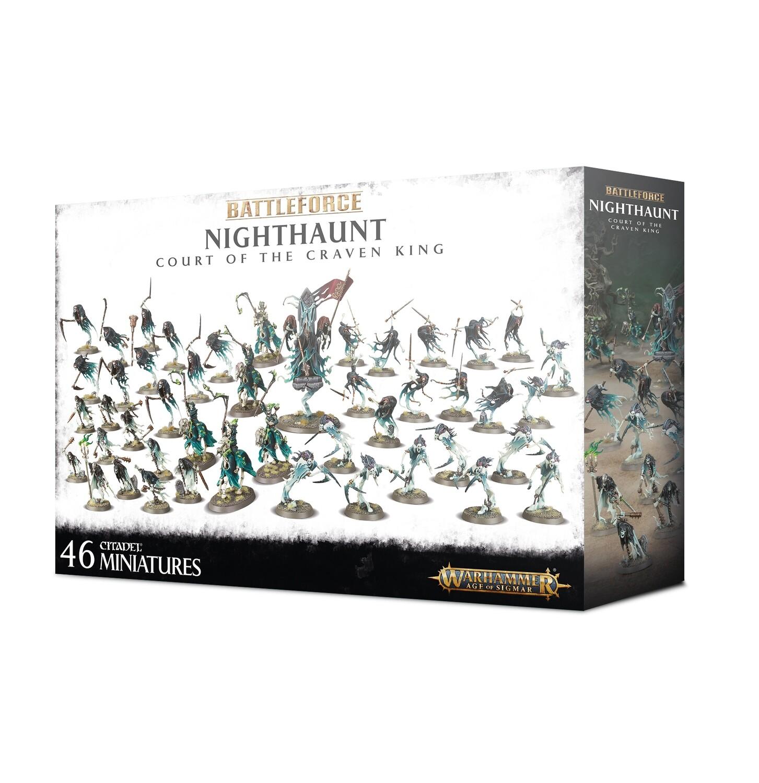 Battleforce: Nighthaunt Court of the Craven King - Warhammer 40.000 - Games Workshop