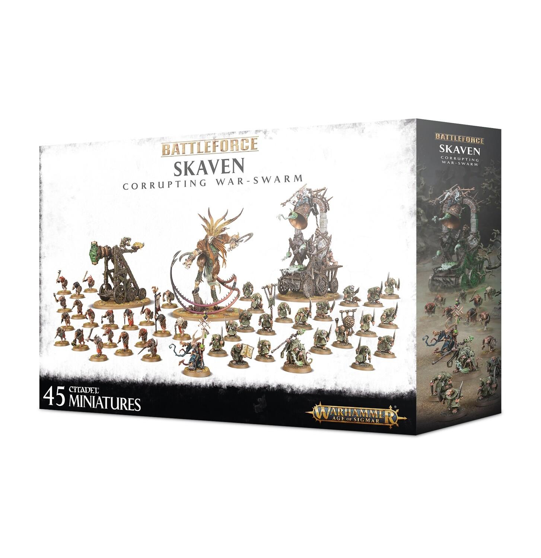 Battleforce: Skaven Corrupting War-swarm - Warhammer 40.000 - Games Workshop