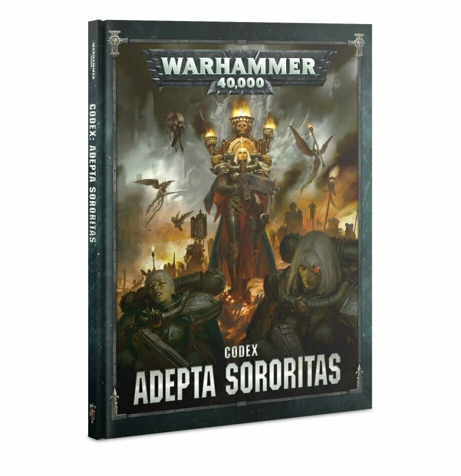 Codex: Adepta Sororitas (English) - Adepta Sororitas - Warhammer 40.000 - Games Workshop