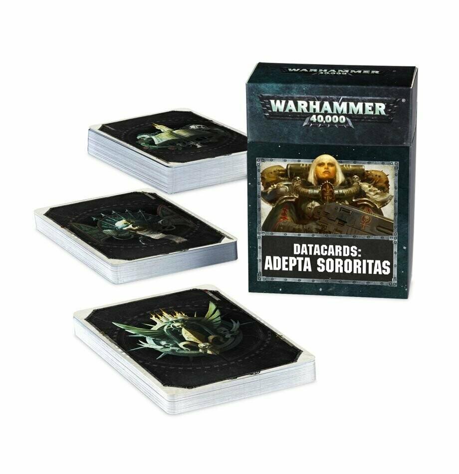 Datacards: Adepta Sororitas (English) - Adepta Sororitas - Warhammer 40.000 - Games Workshop