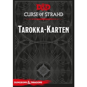 Dungeons & Dragons - Curse of Strahd: Tarokka-Karten - DE