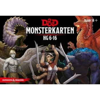 Dungeons & Dragons - Monsterkarten - DE