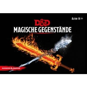 Dungeons & Dragons - D&D Magische Gegenstände Deck - DE
