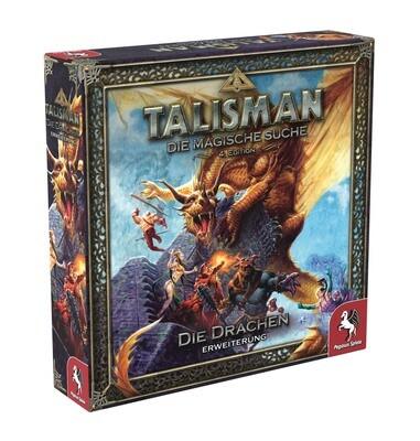 Talisman: Die Drachen [Erweiterung] - 4.Edition - Brettspiel