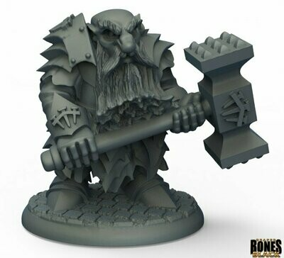 Dark Dwarf Pounder- Reaper Bones