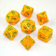 Lotus - Speckled Polyhedral 7-Die Set (7) - Chessex