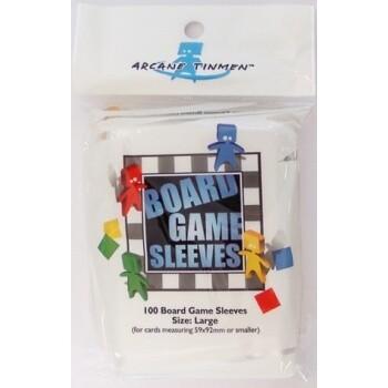 Board Games Sleeves - European Variant - Big Cards (59x92mm) - 100 Pcs