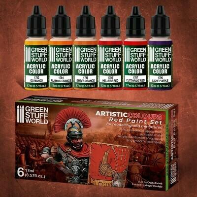 Farbset - Rot  - Greenstuff World