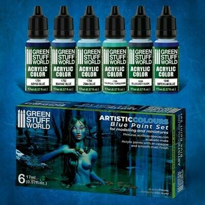 Farbset - Blau - Greenstuff World
