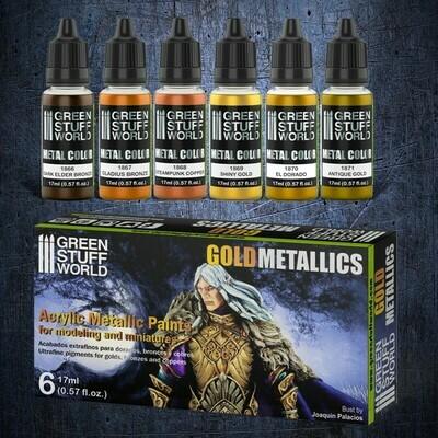 Set Metallfarben - Gold - Greenstuff World