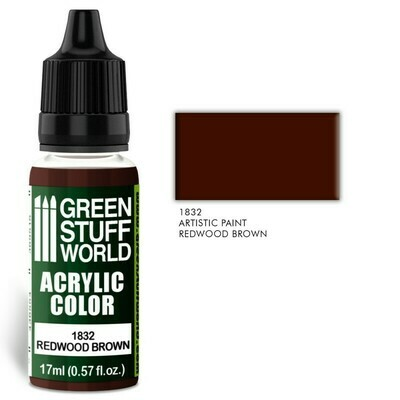 Acrylic Color REDWOOD BROWN  - Greenstuff World