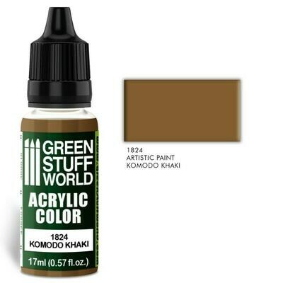 Acrylic Color KOMODO KHAKI - Greenstuff World