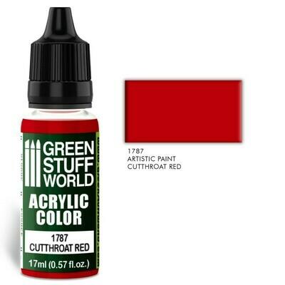 Acrylic Color CUTTHROAT RED - Greenstuff World