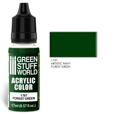 Acrylic Color FOREST GREEN - Greenstuff World