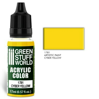 Acrylic Color CYBER YELLOW - Greenstuff World