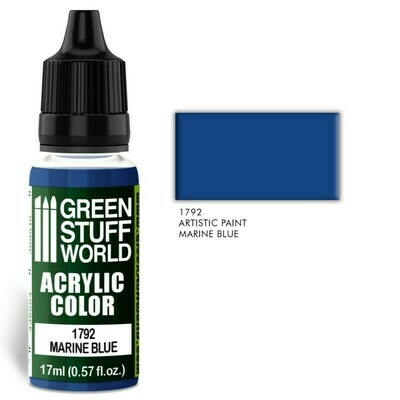 Acrylic Color MARINE BLUE - Greenstuff World