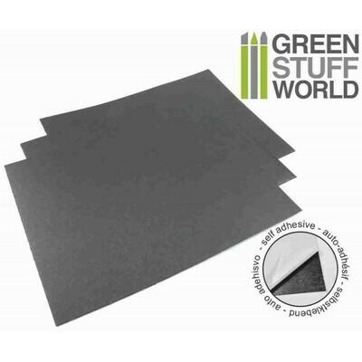 Selbstklebende Stahl-Gummi Folien - Greenstuff World