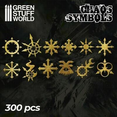 Chaos Runen und Symbole Chaos Symbols - Greenstuff World