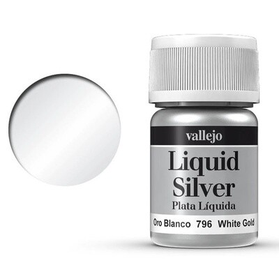 Liquid Silver - White Gold 792 - Vallejo