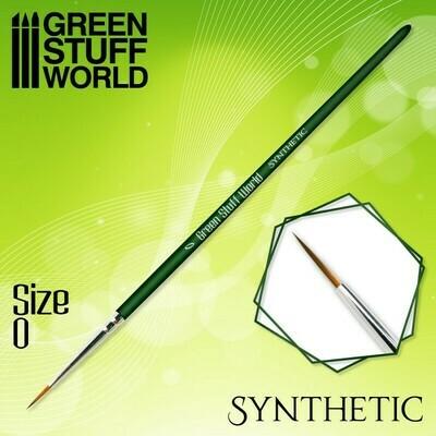 GREEN SERIES Synthetische Haarpinsel - 0 - Greenstuff World