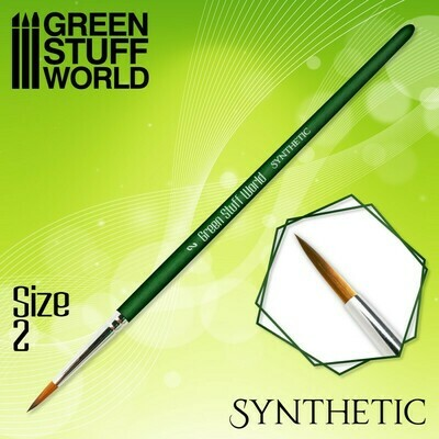 GREEN SERIES Synthetische Haarpinsel - 2 - Greenstuff World
