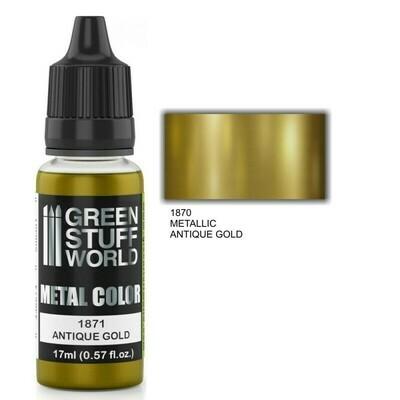 Metallische Farbe ANTIQUE GOLD - Greenstuff World