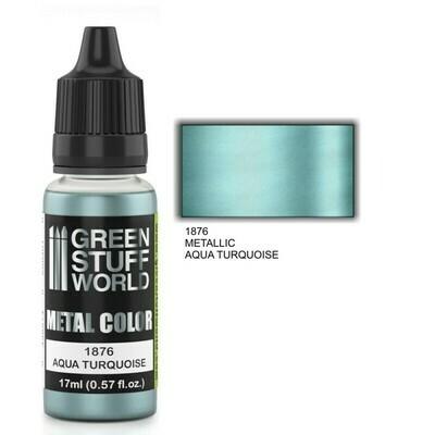 Metallische Farbe AQUA TURQUOISE - Greenstuff World