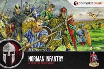 Norman Infantry - SAGA - Conquest Games
