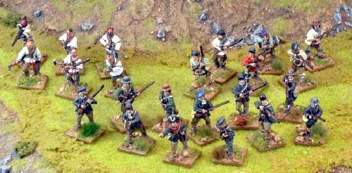 British Wilderness Force - Muskets and Tomahawks - North Star Figures