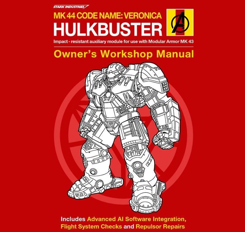 Hulkbuster Manual - Ladies - M - Shirt