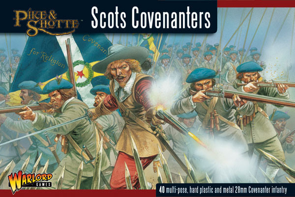 Scots Covenanters plastic boxed set - Pike & Shotte - Warlord Games
