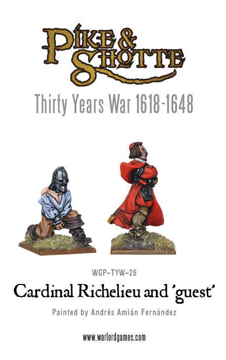 Cardinal Richelieu - Pike & Shotte - Warlord Games