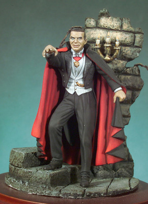 Dracula - 54mm - Andrea Miniatures