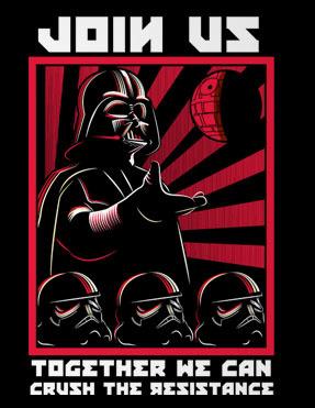 Crush The Resistance - Men - M - Shirt
