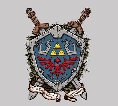 Link Shield - Men - L - Shirt