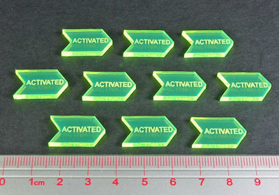 Activated Tokens (10 count) - Litko