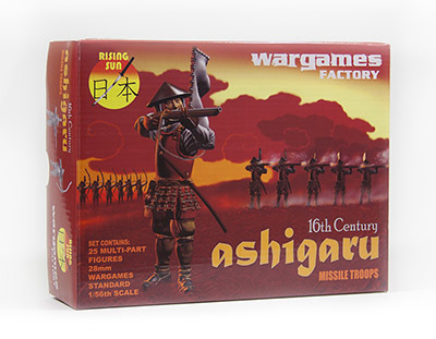 Ashigaru Missile Troops - Rising Sun - Wargames Factory