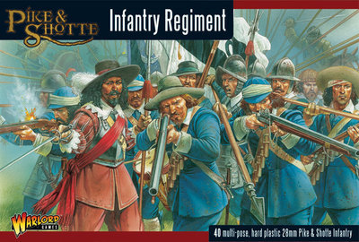 Pike & Shotte Infantry Regiment - Pike & Shotte - Warlord Games