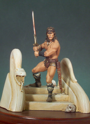 The Barbarian - 54mm - Andrea Miniatures